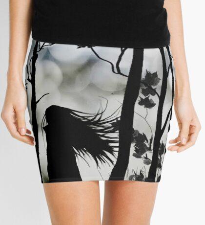 Dark Walk Mini Skirt