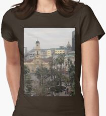 a sprawling Chile landscape Womens Fitted T-Shirt