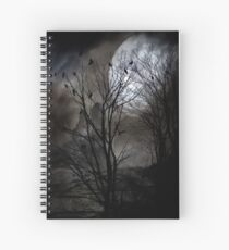 A murder of crows Spiral Notebook