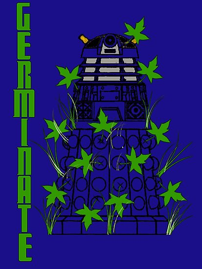Germinate - Dr Who by appfoto