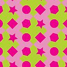 Geometric Pink! by randomdumping
