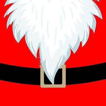 Santa Beard Christmas Costume by LemoBoy