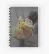 Flowering Opuntia Spiral Notebook