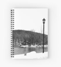 The Lamp Post Spiral Notebook