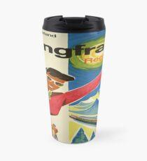 Vintage poster - Jungfrau, Switzerland Travel Mug