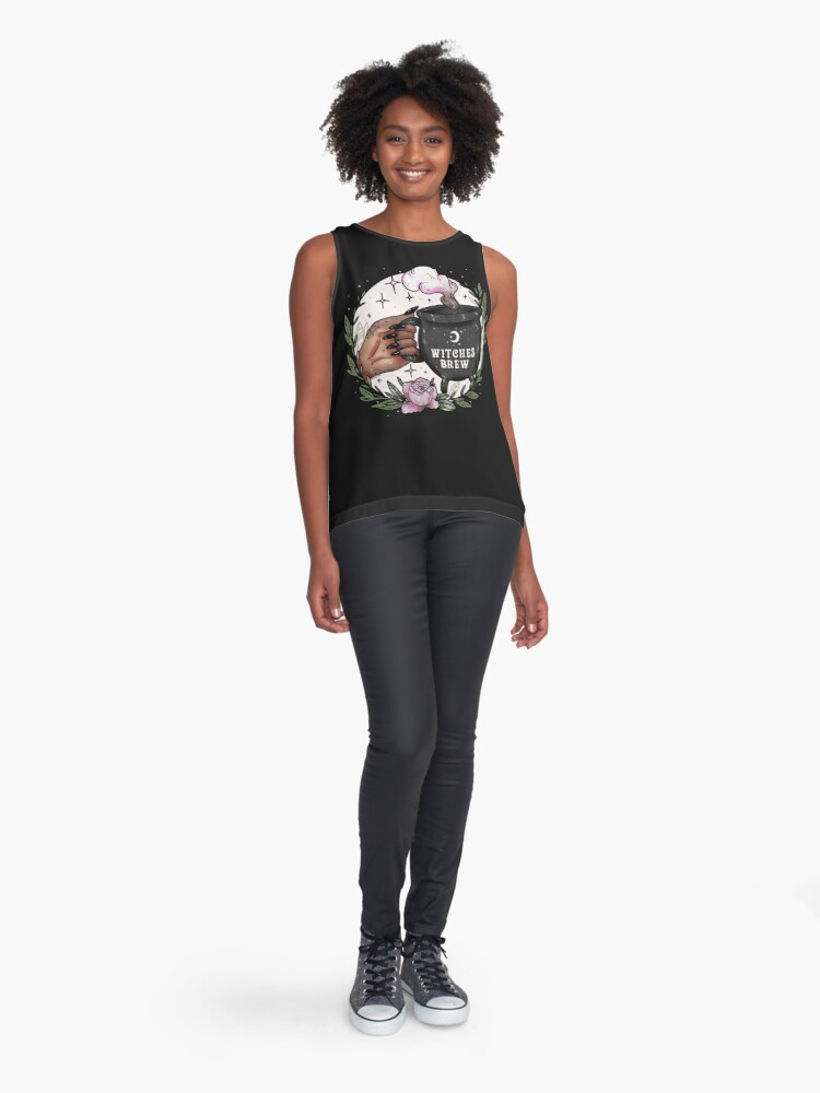 Alternate view of Witches Brew Sleeveless Top