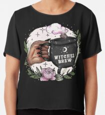 Witches Brew Chiffon Top