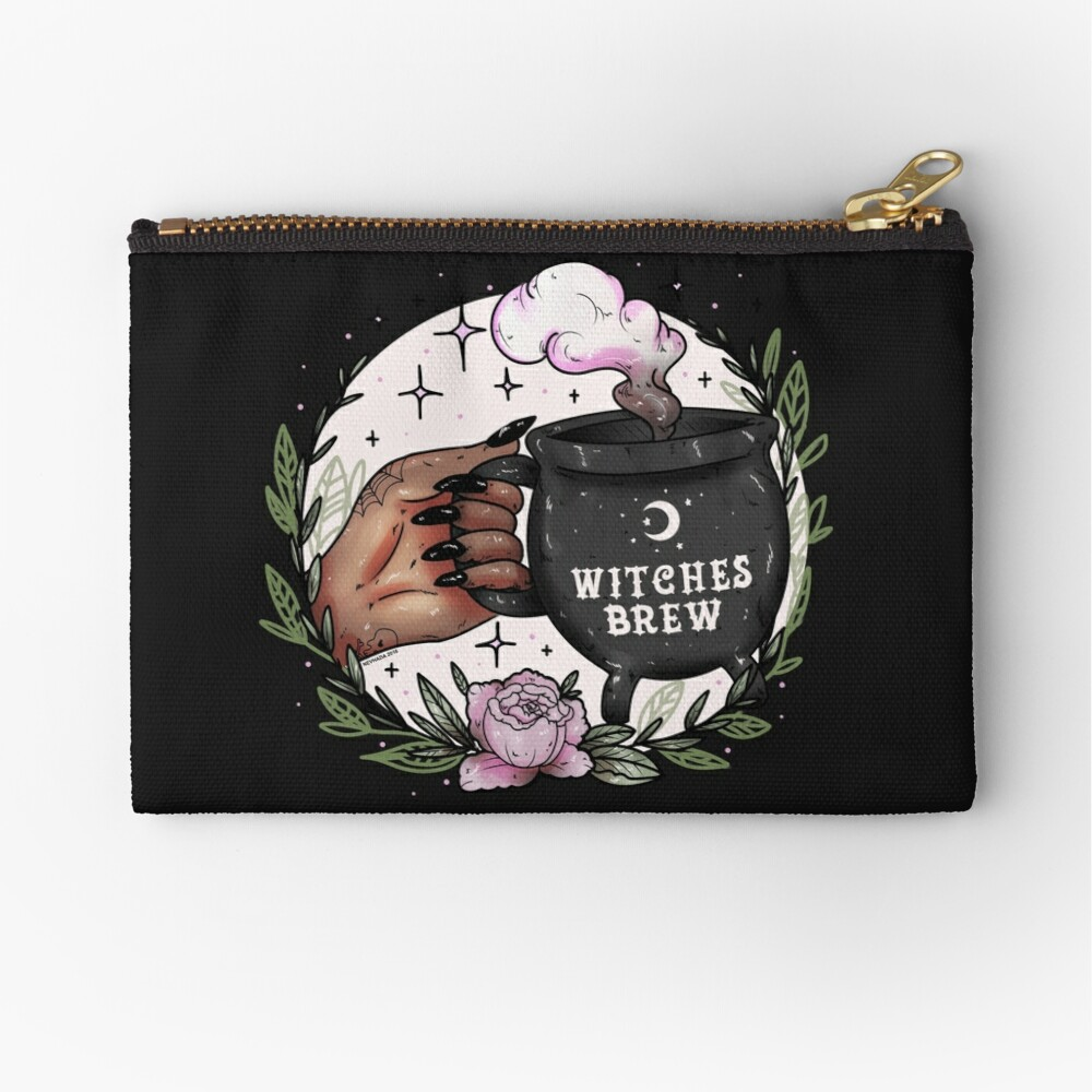Witches Brew Zipper Pouch