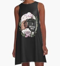 Witches Brew A-Line Dress