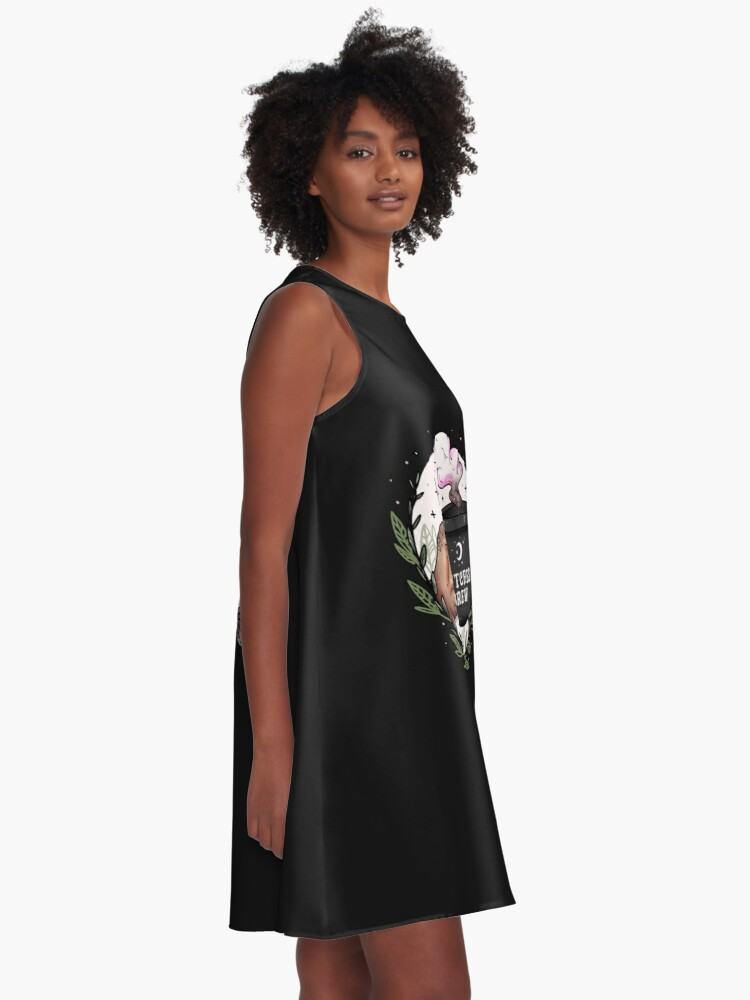 Alternate view of Witches Brew A-Line Dress