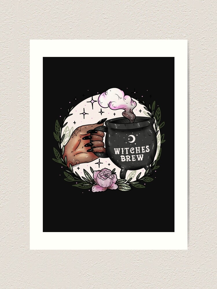 Alternate view of Witches Brew Art Print