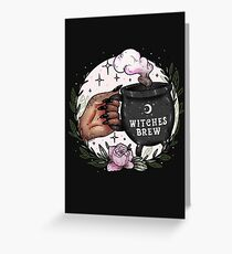Witches Brew Greeting Card