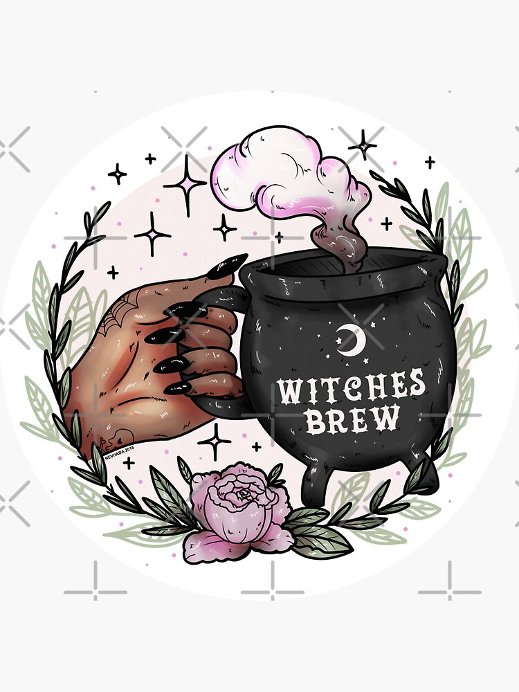 Witches Brew Stickers Redbubble
