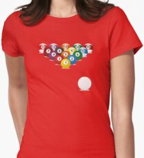 pool trail Womens Fitted T-Shirt