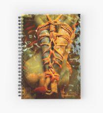 sitting Spiral Notebook