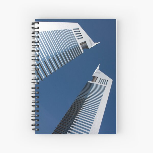 The Emirates Towers, Dubai Spiral Notebook