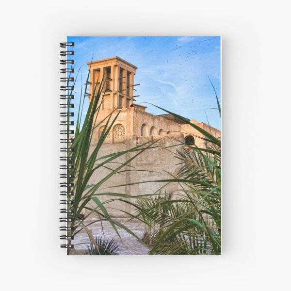 Windcatcher, Dubai Spiral Notebook
