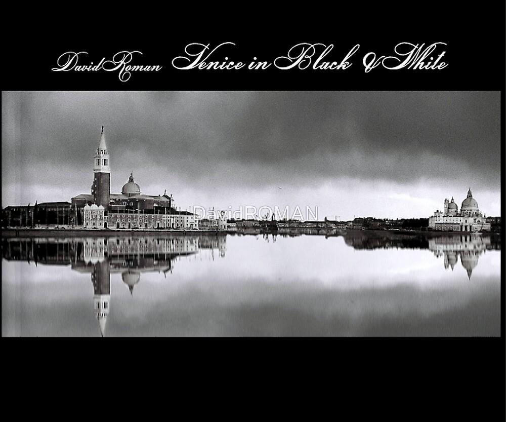 Venice in Black & White  by DavidROMAN