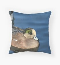 American Wigeon Throw Pillow
