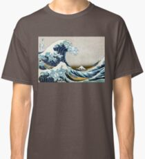 The great wave, famous Japanese artwork Classic T-Shirt
