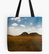The land is about to get bumpy Tote Bag