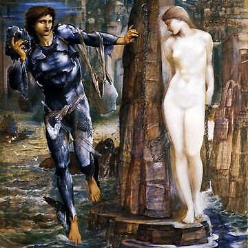 "Edward Burne-Jones ""The Rock of Doom"" by ALD1"