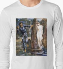 "Edward Burne-Jones ""The Rock of Doom"" Long Sleeve T-Shirt"
