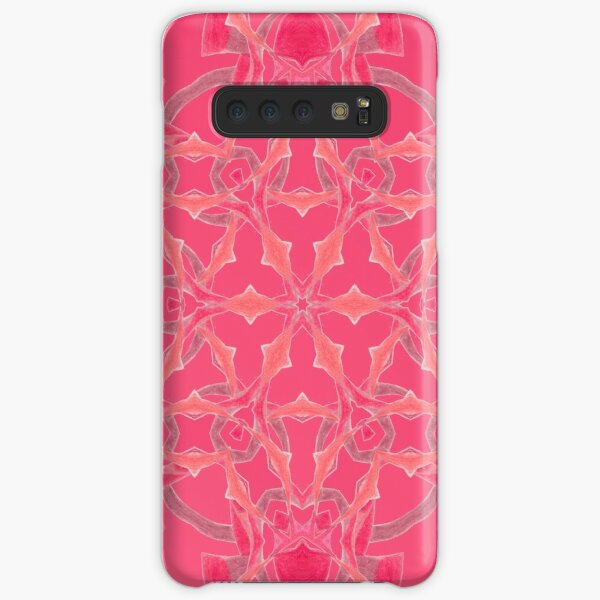 Red Over Twist Fall Into Winter Design Collection of Green Bee Mee Samsung Galaxy Snap Case