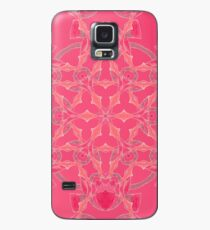 Red Over Twist Fall Into Winter Design Collection of Green Bee Mee Case/Skin for Samsung Galaxy