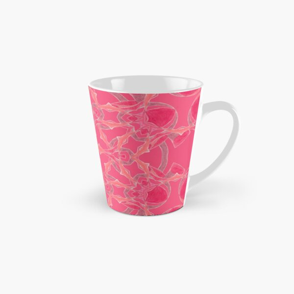 Red Over Twist Fall Into Winter Design Collection of Green Bee Mee Tall Mug