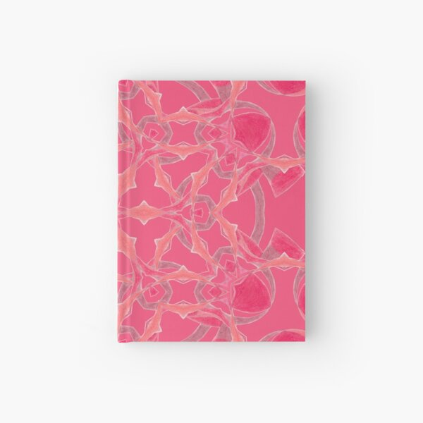 Red Over Twist Fall Into Winter Design Collection of Green Bee Mee Hardcover Journal