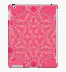 Red Over Twist Fall Into Winter Design Collection of Green Bee Mee iPad Case/Skin