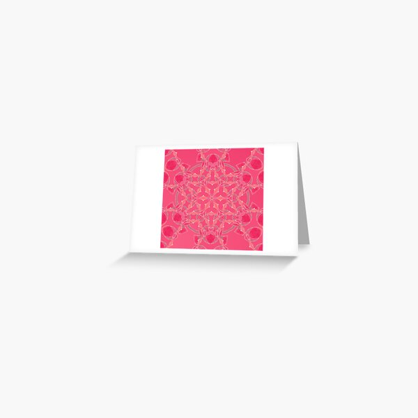 Red Over Twist Fall Into Winter Design Collection of Green Bee Mee Greeting Card