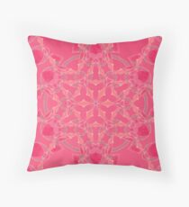 Red Over Twist Fall Into Winter Design Collection of Green Bee Mee Floor Pillow