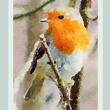 Robin Red Breast by miniverdesigns