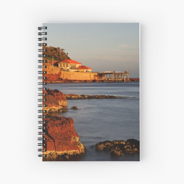 Merimbula Wharf Spiral Notebook