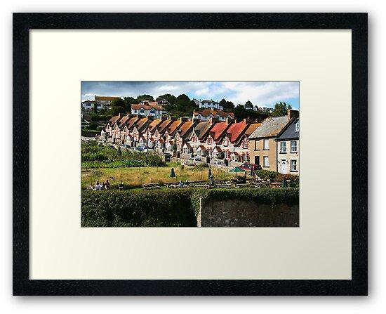 Fishermans Cottages by Stuart Jenkins