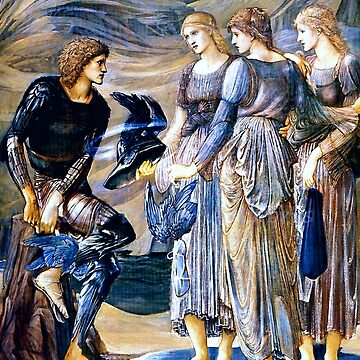 """Edward Burne-Jones """"Perseus and the Sea Nymphs (The Arming of Perseus)"""" by ALD1"""