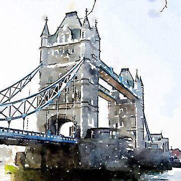 London Tower Bridge  by miniverdesigns