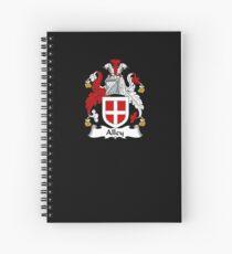 Cuaderno de espiral Alley Coat of Arms - Family Crest Shirt
