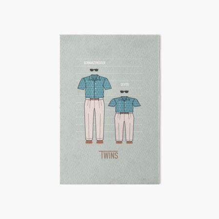 Twins Art Board Print