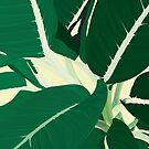 Green Leaves by BANDERUS MARTIN