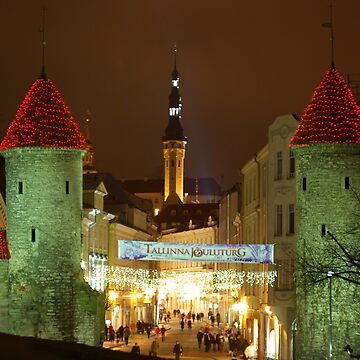 Christmas Time in Tallinn by markogt
