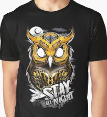 Stay All Night Graphic T-Shirt