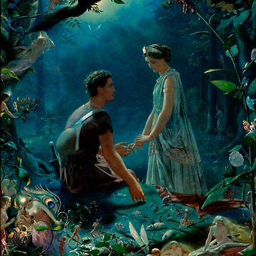 """John Simmons """"Hermia and Lysander. A Midsummer Night's Dream"""" by ALD1"""