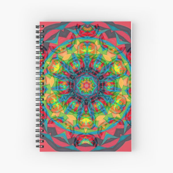 Charcoal and Fruit Ties Fall Into Winter Collection at Green Bee Mee Spiral Notebook