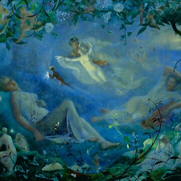 """John Simmons """"Scene from 'A Midsummer Night's Dream'"""" by ALD1"""