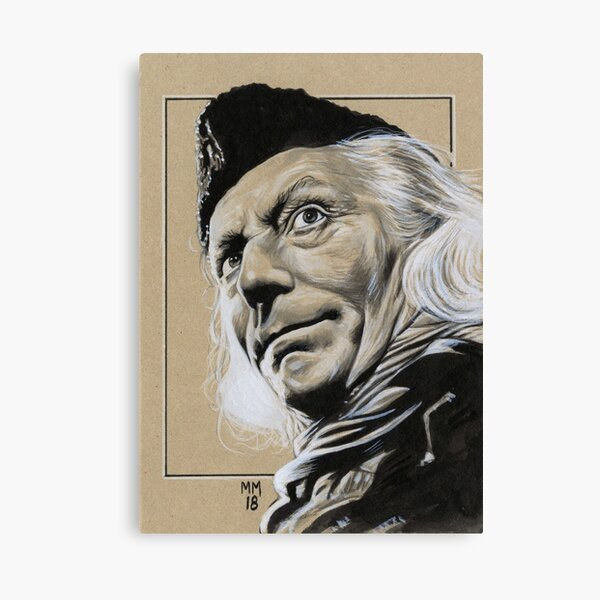 William Hartnell as the First Doctor Canvas Print