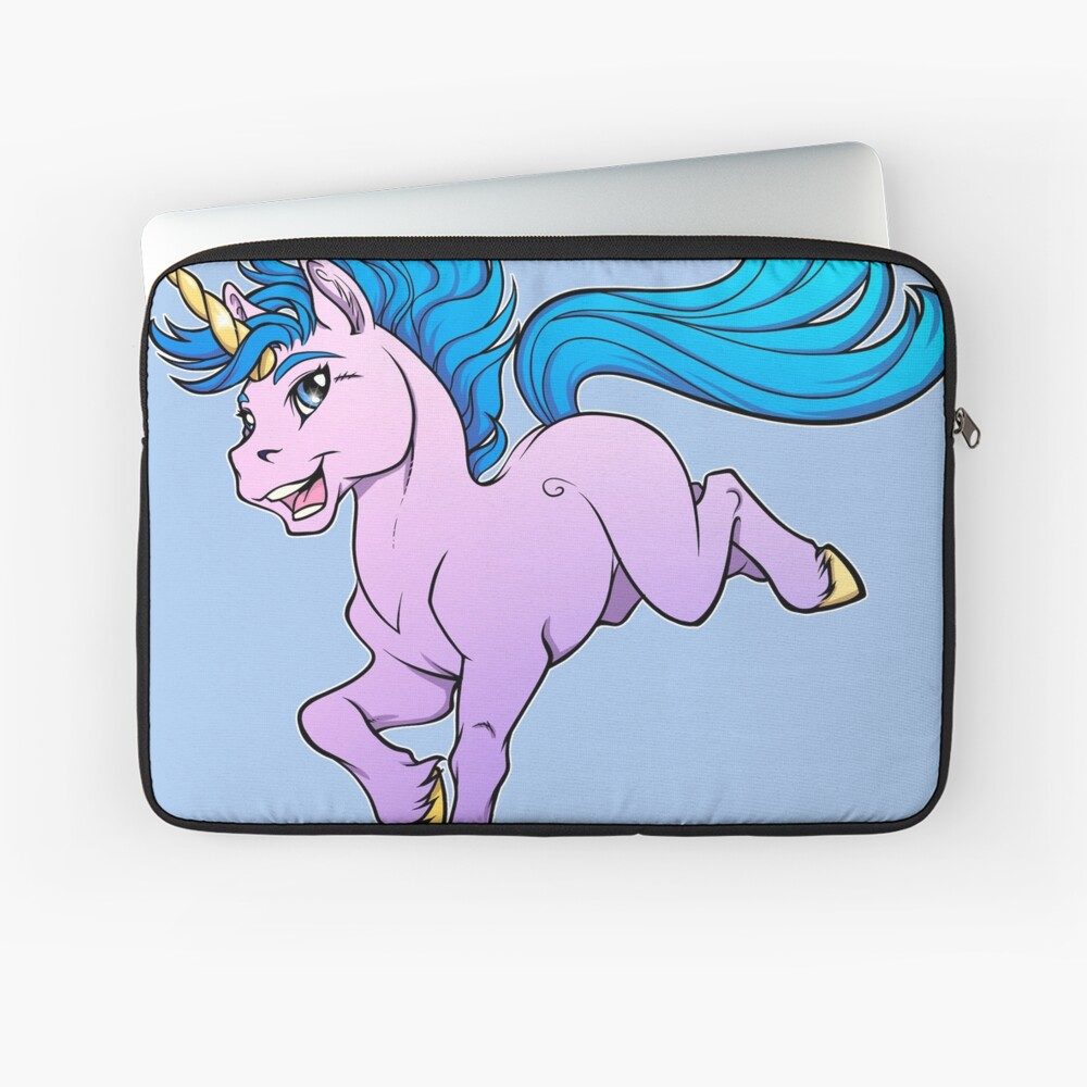 Sweet Sparkle Unicorn Laptop Sleeve