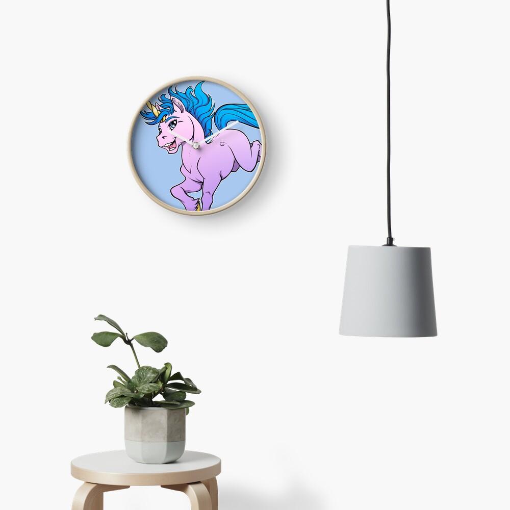 Sweet Sparkle Unicorn Clock